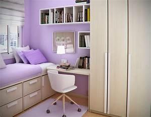 Simple, Small, Bedroom, Desks, U2013, Homesfeed