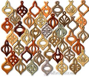 scroll saw patterns holidays 3d ornaments compound cut 3d ornaments 7
