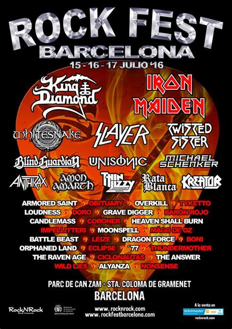 rock fest barcelona days barcelona cataluna
