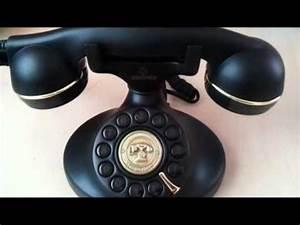 Telefon Schnurlos Retro : retro vintage telefon youtube ~ Watch28wear.com Haus und Dekorationen