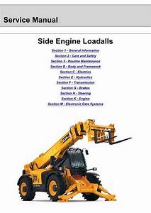 Jcb 535  540  550 Side Engine Loadalls Service Manual