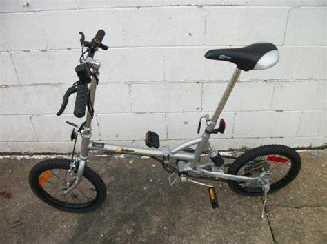 16 Inch Folding Z Bike With Carrying Case Ebay