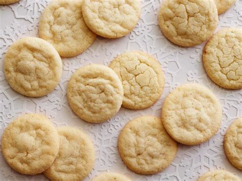 chewy sugar cookies recipe food network kitchen food