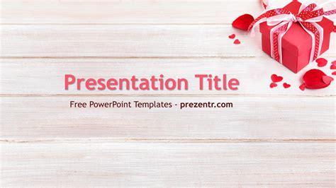 romantic gift powerpoint template prezentr