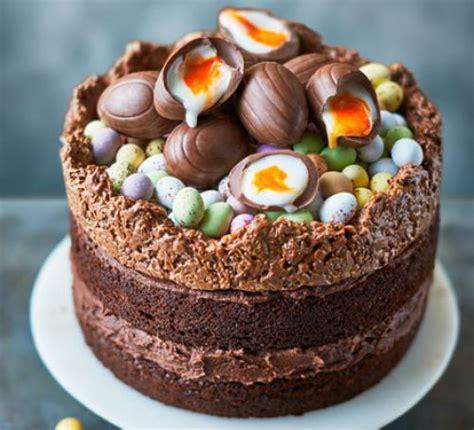 easter nest cake recipe bbc good food