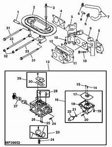 Wiring Diagram Database  John Deere L130 Carburetor Diagram