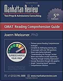 Manhattan Review Gmat Reading Comprehension Guide [5th Edition] Turbocharge Your Prep Joern