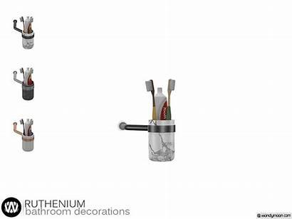 Ruthenium Tooth Brush Holder Mar Published Loading