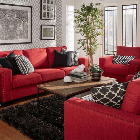 red and grey sofa resultado de imagen de black feature wall living room grey