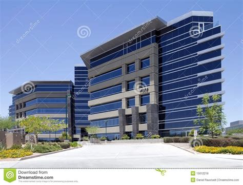 New Modern Corporate Office Building Exterior Royalty Free