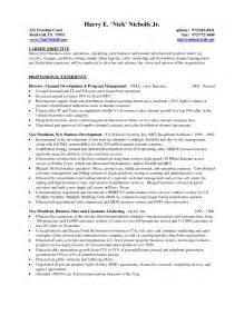 Cover Letter Sle Sales Manager Resume In Management Sales Management Lewesmr