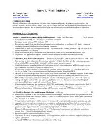 resume objective statement exles entry level sales and marketing resume in management sales management lewesmr