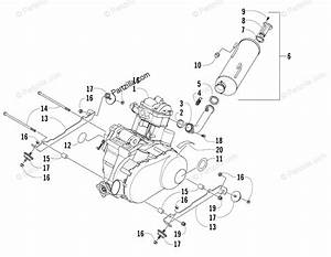 Arctic Cat Side By Side 2006 Oem Parts Diagram For Engine