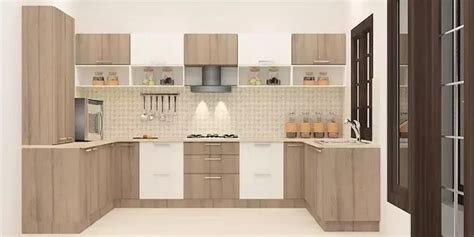 wooden kitchen island what is the cost of a modular kitchen quora