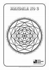 Mandala Coloring Pages Cool Mandalas Activities Educational sketch template