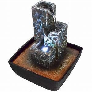 Tischbrunnen Mit Beleuchtung : zimmerbrunnen wasserspiel tischbrunnen wasserwand led beleuchtung brunnen leise ebay ~ Orissabook.com Haus und Dekorationen