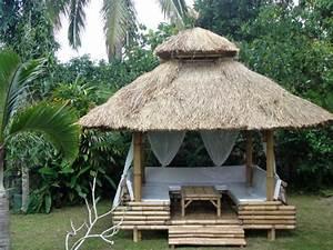 Tonnelle En Bambou : bambou pergola herrlich haus decorating ~ Premium-room.com Idées de Décoration