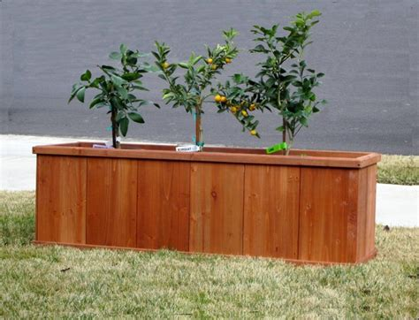 churchill 60 quot rectangular planter box outdoor pots and