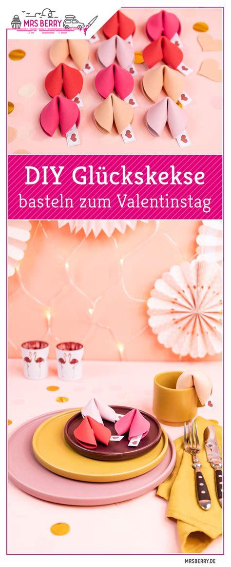glückskekse box basteln diy gl 252 ckskekse basteln geschenkidee zum valentinstag mrsberry de