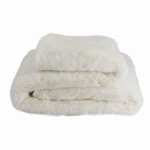 Plaid Fourrure Blanc : plaid fourrure polaris blanc now 39 s home d co en ligne ~ Nature-et-papiers.com Idées de Décoration