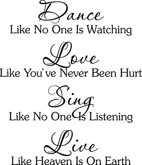 Love Music Dance Quotes