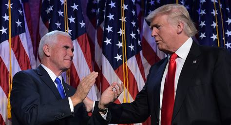 pence trump president vice mike donald campaign nieuwe getty cabinet politico picks discuss tuesday michael