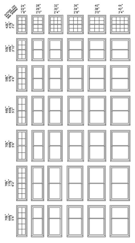andersen egress casement window sizes  home plans design