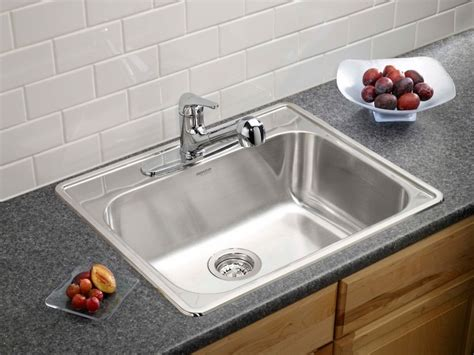 home depot kitchen sinks top mount blanco homestyle 1 0 topmount stainless steel sink the 8405
