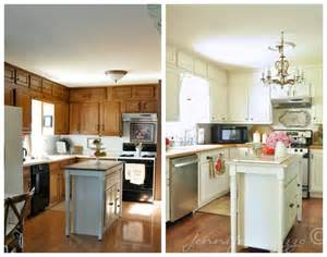 Rooms To Go Kitchen Furniture Kitchen Oak Cabinets Painted White With Butcher Block Countertop And Oak Flooring