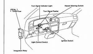 Service Manual  2004 Acura Rl Turn Signal Switch Removal