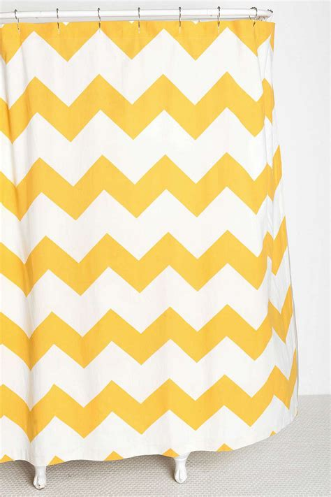 Yellow Chevron Drapes - tired trends in home decor and what to try instead