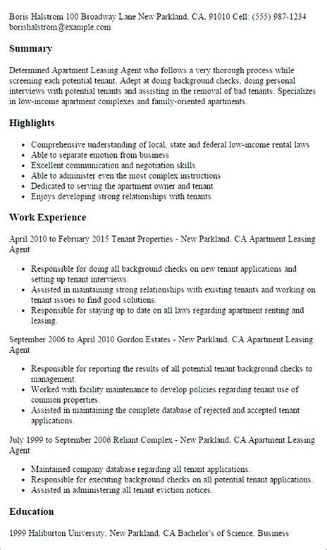 Leasing Consultant Resume by Leasing Resume Sle Leasing Manager Resume If
