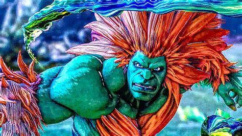 Street Fighter 5 Blanka Gameplay Trailer Ps4 (2018) Youtube