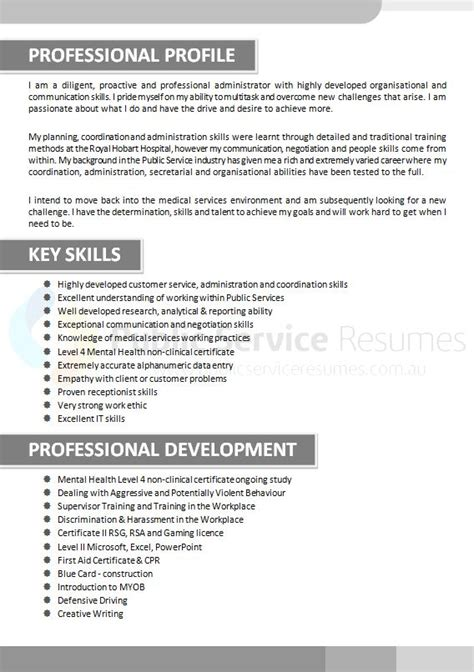 Professional Resume Writers For Government by Government Resume 187 Professional Resume Writers