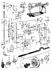 Kenmore 14812011 Mechanical Sewing Machine Parts