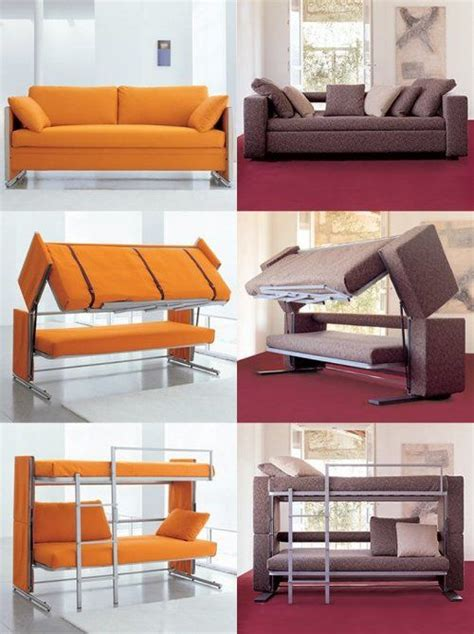 bunk bed settee 10 out of the ordinary convertible beds sleeper sofas