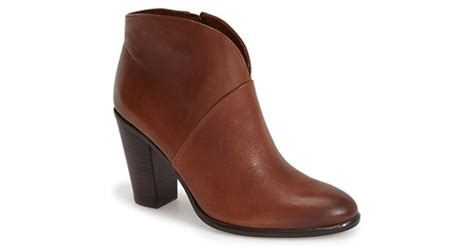 Vince Camuto 'franell' Western Bootie In Brown (rich