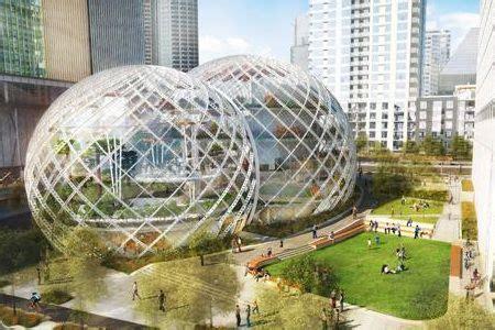 siege social amazon amazon un nouveau siège social à seattle dans des bulles