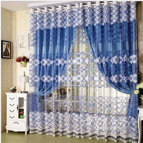 simple bay window curtain designs home design decor