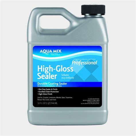 high gloss tile sealer aqua mix floor shine hardener gallon