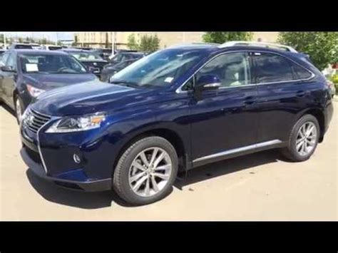 blue lexus 2015 new blue on black 2015 lexus rx 350 awd review edmonton