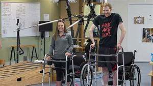 Two People With Paralysis Walk Again Using An Implanted