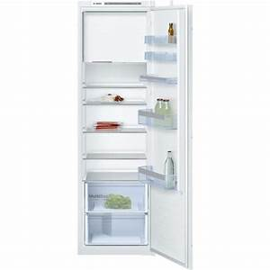 Refrigerateur Congelateur Encastrable Froid Ventilé : bosch kil82vs30 r frig rateur 1 porte encastrable 286l ~ Dode.kayakingforconservation.com Idées de Décoration