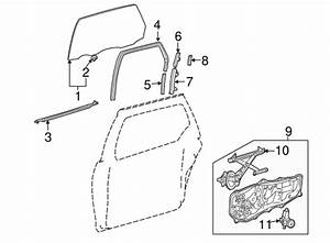 genuine oem glass side door parts for 2005 toyota sienna With le grand cat 5e jack wiring diagram le find a guide with wiring