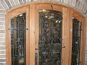 Ornamental Bared Doors, wrought iron works, BG81 – BC ...