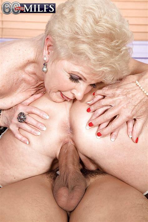 Naughty Grandmas Bea Cummins And Jewel Having 3some With