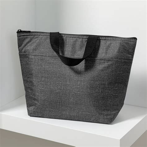 Charcoal Crosshatch Thermal Tote Thirty One Ts