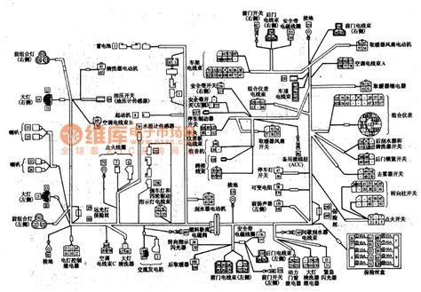 mitsubishi pajero light road car circuit wiring