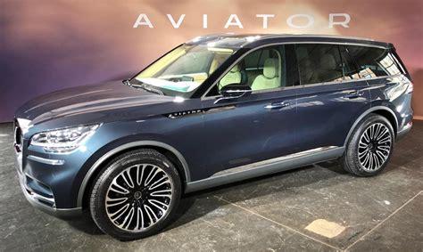 2019 Lincoln Aviator Lincoln Launches Allnew Suv