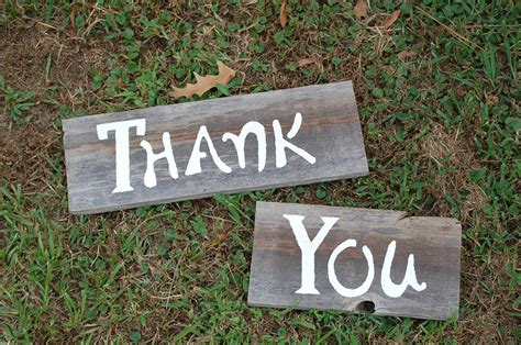 Thank You Sign For Wedding Photos And Thank You By Trueconnection
